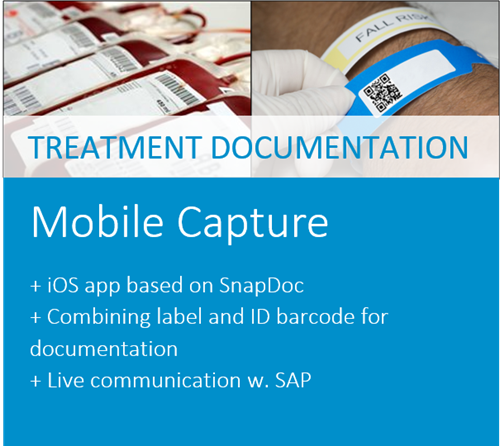 iPhone Healthcare Capture Solution for Healthcare